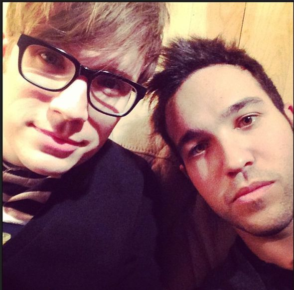 Peterick was also fully intact. | Fall Out Boy Is Back And Its