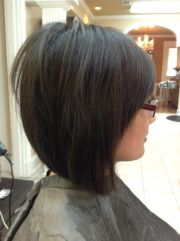 medium layered inverted bob - google