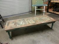 Old wood door coffee table. | My Style | Pinterest | Door ...