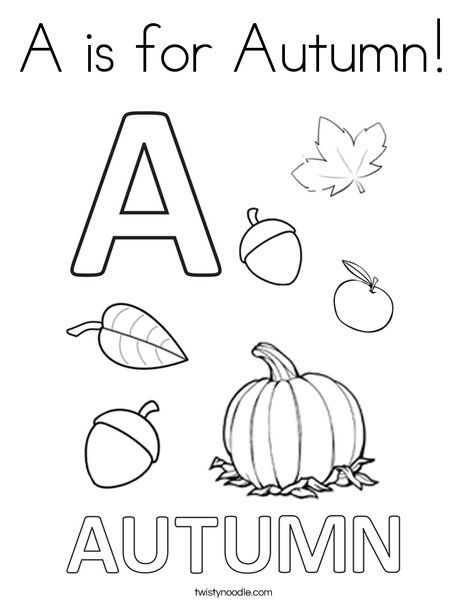 25+ best images about Autumn Coloring Pages, Worksheets