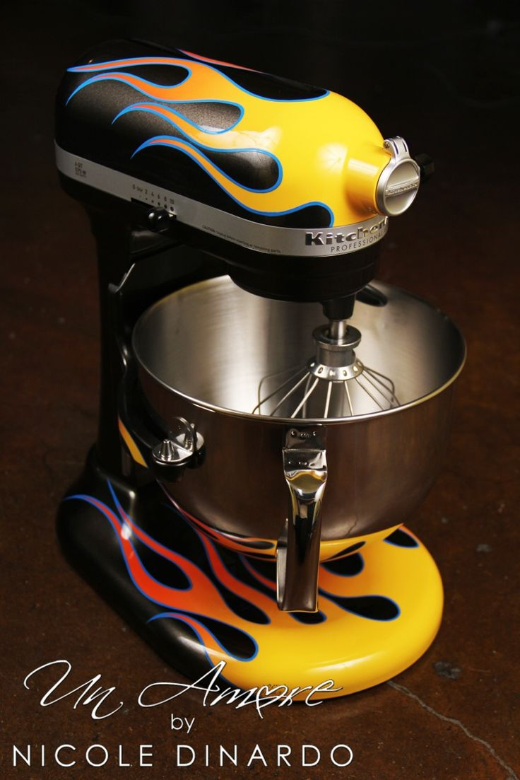 Hot Rod Flames never go out of style  KitchenAid Style
