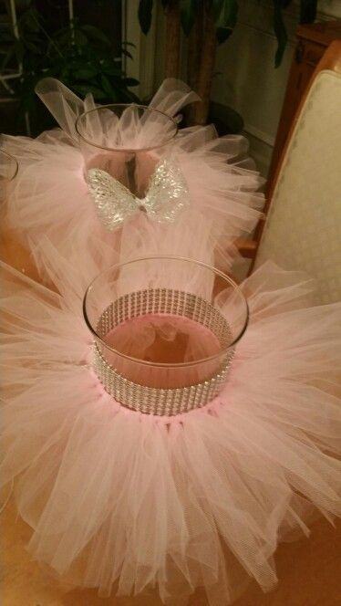 17+ best ideas about Tutu Centerpieces on Pinterest