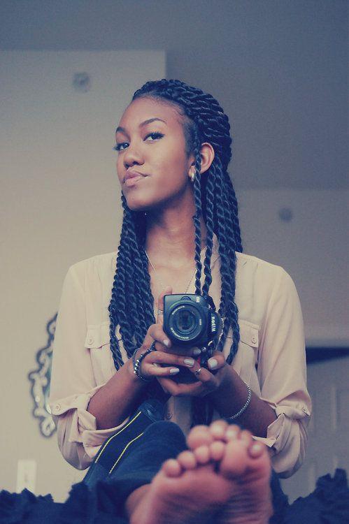 Senegalese Twists Tumblr Braids •Braided Styles Pinterest