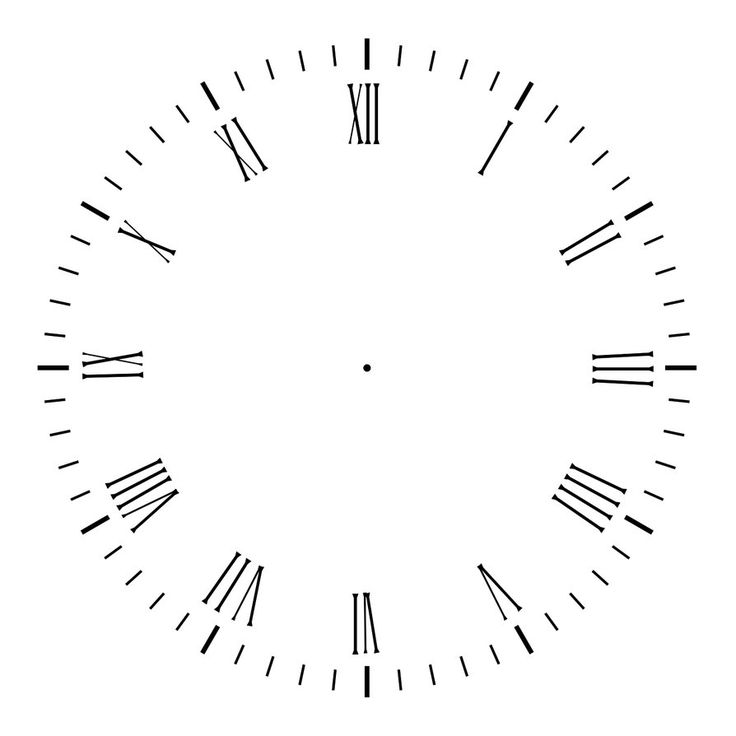 17 Best ideas about Clock Face Printable on Pinterest