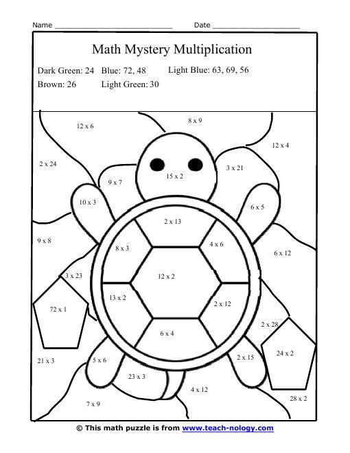 25+ best ideas about Multiplication facts worksheets on