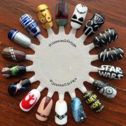 1000 ideas painted nail