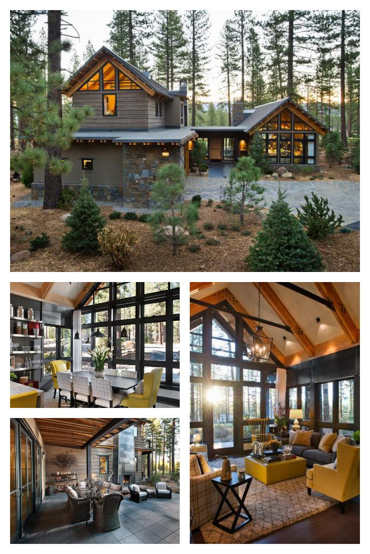 25 best ideas about Contemporary Cabin on Pinterest  Forest cabin Small modern cabin and