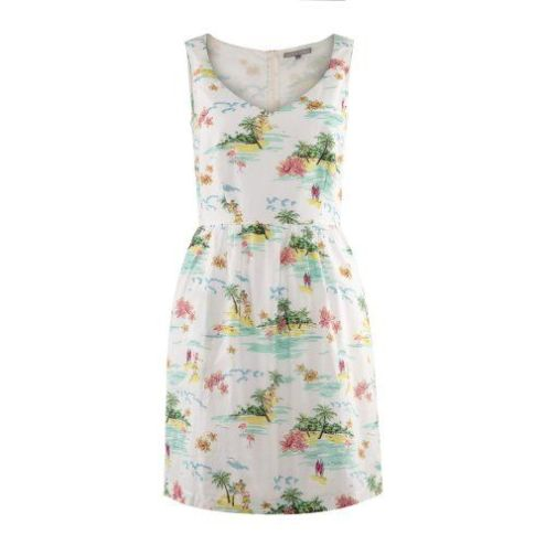 Honolulu Print Prom Dress £59.50 from Oliver Bonas