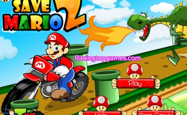 You Can Play Online Save Mario 2 Racing Game Free At
