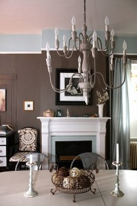 Dining Room - Benjamin Moore Fairview Taupe and Woodlawn ...