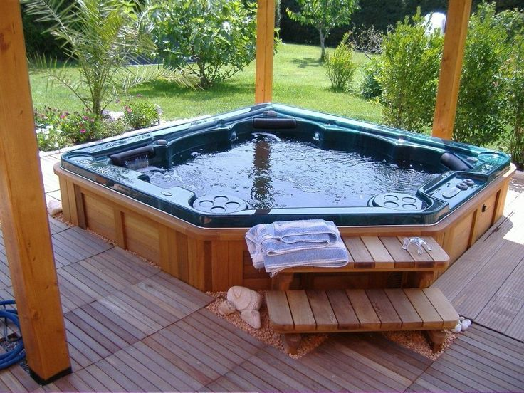 how to move a hot tub from one house to another