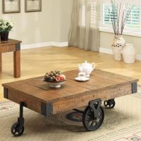 25+ best ideas about Coffee table with wheels on Pinterest ...