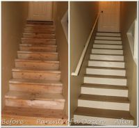 Basement Stairway Lighting Ideas | Basement Stair Pictures ...