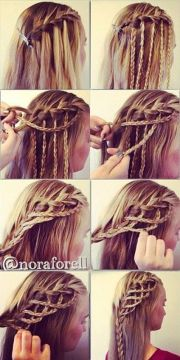 amazing hairstyle rope braid