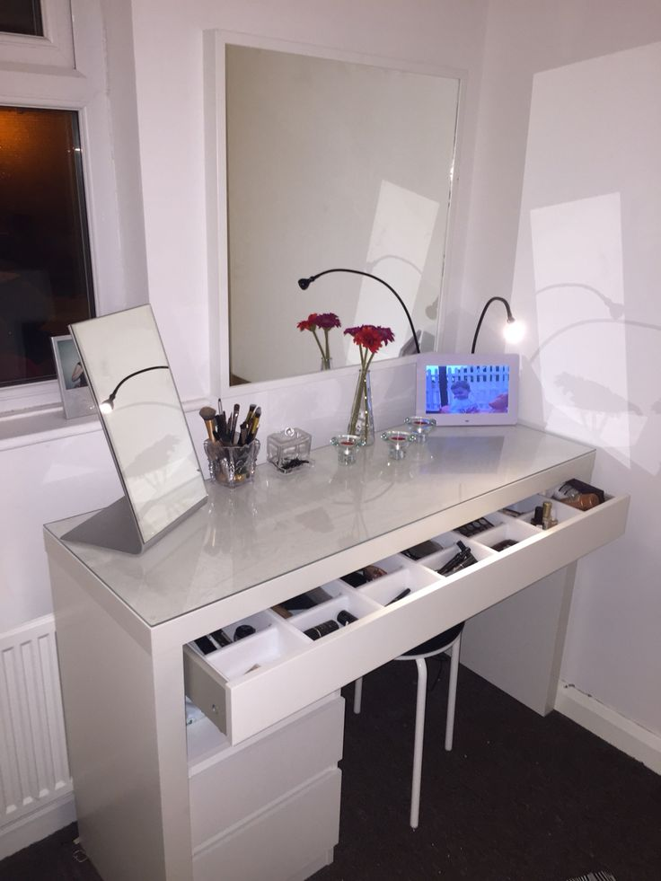 Clear Makeup Chair Best 25+ Ikea Dressing Table Ideas On Pinterest | Dressing