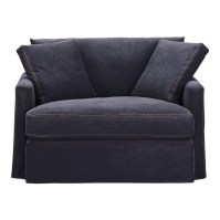 Denim Chair and a Half | Home: Furniture - Accent Chairs ...