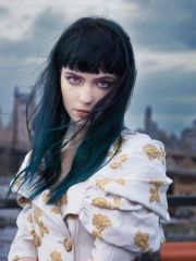 turquoise black hair grimes hairs