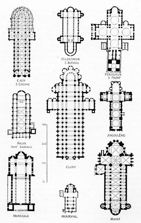 34 best images about Church Blueprints on Pinterest