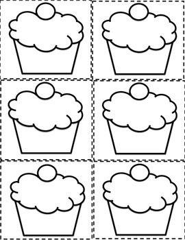 Birthday graph, Printables and Cupcake on Pinterest