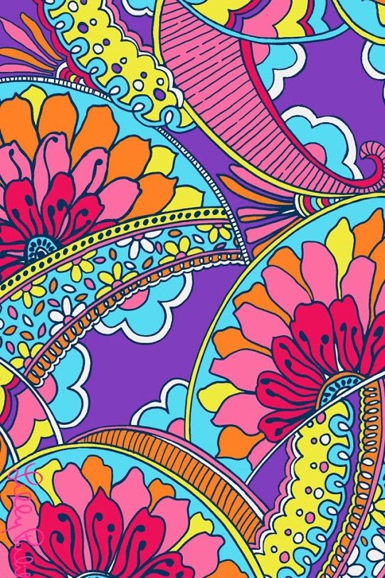 Lilly Pulitzer Desktop Wallpaper With Quotes Colorful Paisley Iphone Wallpaper Iphone Wallpaper
