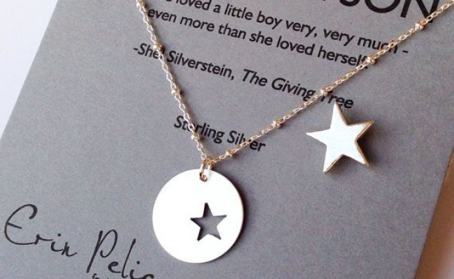 Mother Son Jewelry Mother Of The Groom Gift Mom From Son