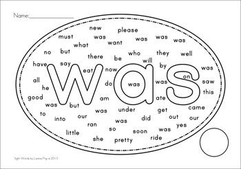1000+ images about High Frequency Word Activities on