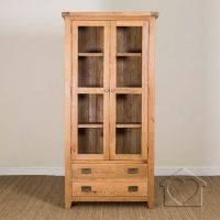 Rustic Unfinished HandPeeled Rustic Gun Cabinet ...