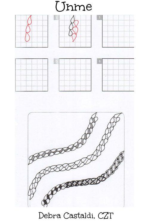 17 Best images about Zentangle® Pattern U on Pinterest