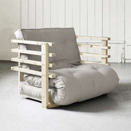 Fresh Futon Natural Wood Funk Chair