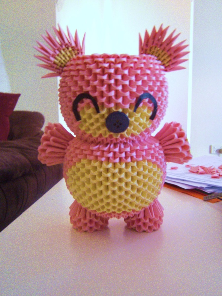 1000 Images About 3d Origami D On Pinterest Pikachu