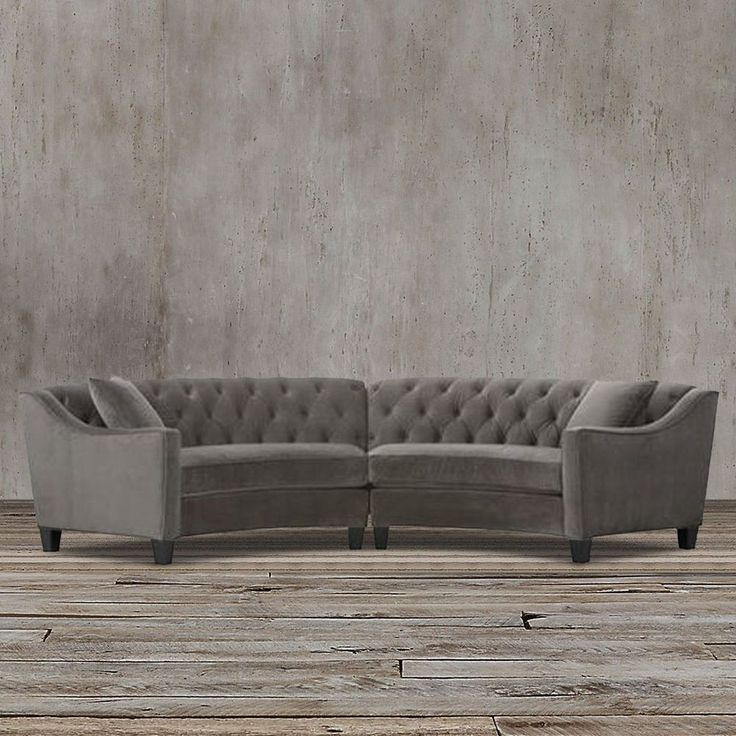 curved tufted sofa bed couch gumtree 17 best ideas about sectional sofas on pinterest | big ...