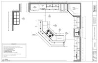 Sample Kitchen Floor Plan | Shop Drawings | Pinterest ...
