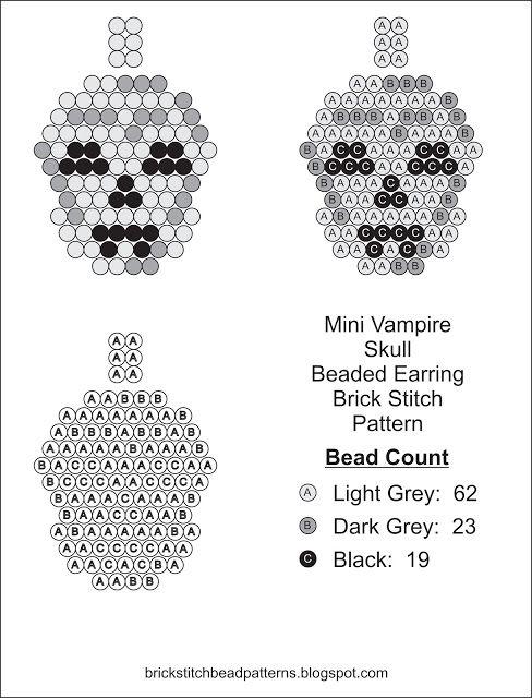 181 best Skulls and Skeletons-Beaded images on Pinterest