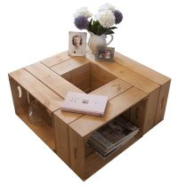 1000+ ideas about Wooden Crate Coffee Table on Pinterest ...