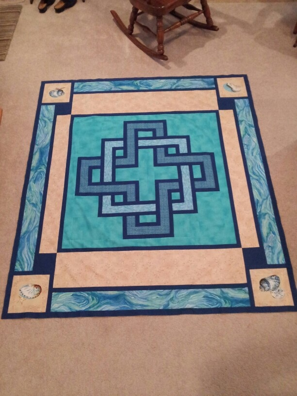 Gordian Knot Two At The Beach Quilts Quilts Quilts