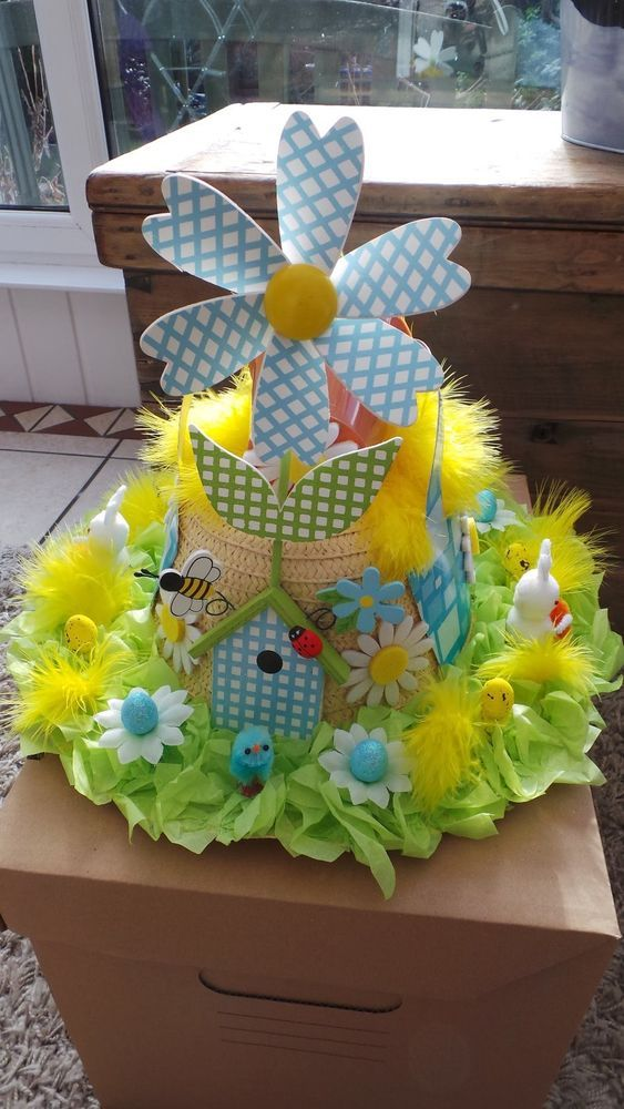 The 336 Best Images About Easter Bonnet Ideas On Pinterest How