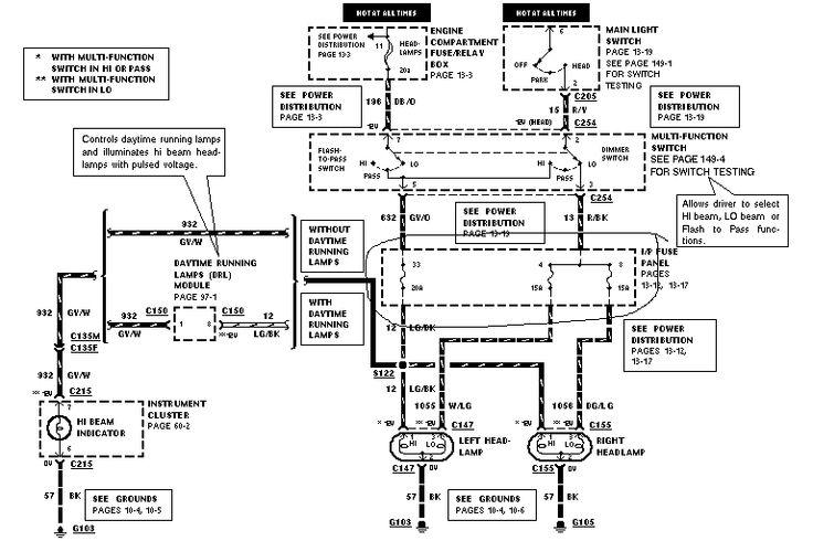 03 ranger fuse box diagram
