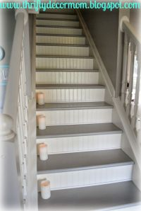 17+ best ideas about Painted Stairs on Pinterest   Paint ...