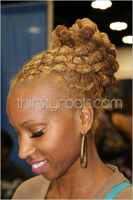 215 Best Images About Loc Updos On Pinterest Black Women Natural