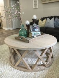 25+ best ideas about Round wood coffee table on Pinterest ...