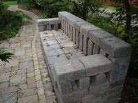 brick bench   The Salvaged Garden   Pinterest   Poker ...