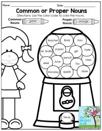 25+ best ideas about Nouns First Grade on Pinterest ...