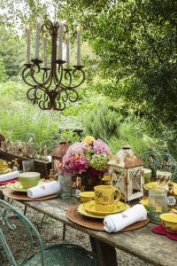 17 Best images about Dining Garden Style on Pinterest