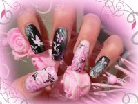 ber 1.000 Ideen zu Airbrush Nails auf Pinterest