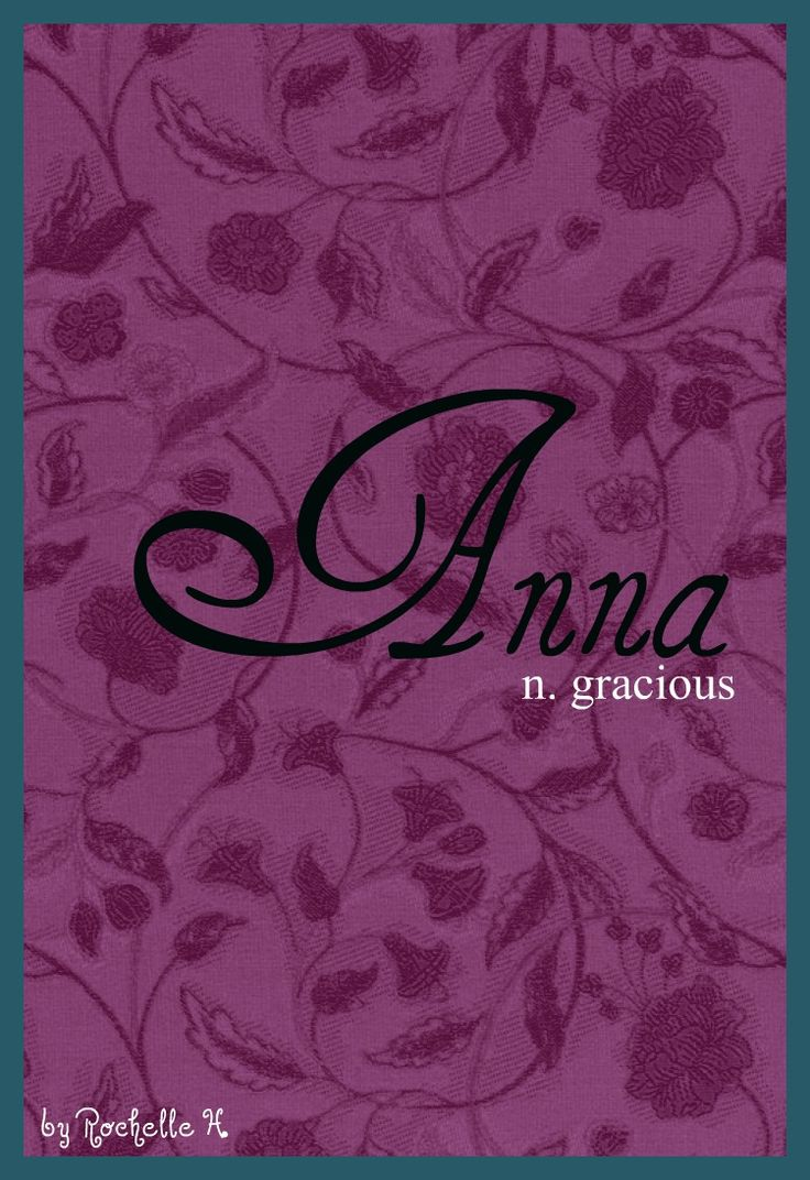 Baby girl name anna meaning gracious origin hebrew