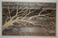 LARGE Indoor Outdoor Rustic Tree Pallet Wood Wall Art 4 ...
