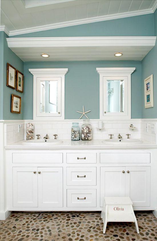 17 Best ideas about Beach Themed Bathrooms on Pinterest