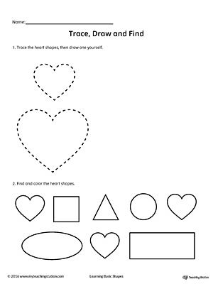 97 best images about Shapes Worksheets on Pinterest
