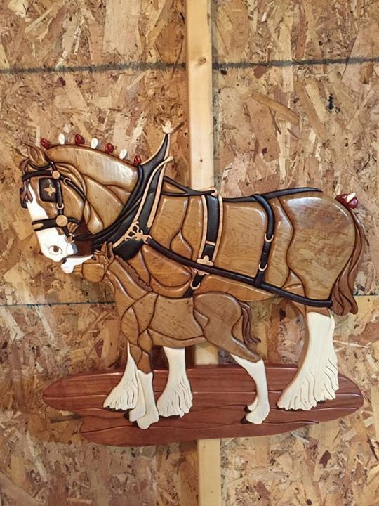 173 best images about Intarsia on Pinterest Wood working