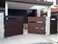 modern wooden gate designs for homes | Fachadas e Portes ...